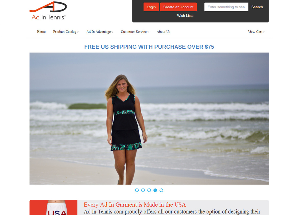 Image Ad In Tennis