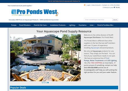 Image Pro Ponds West