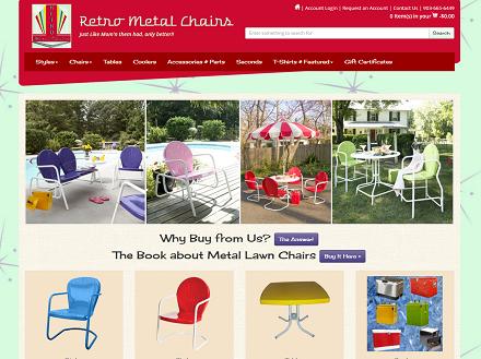 Image Retro Metal Chairs