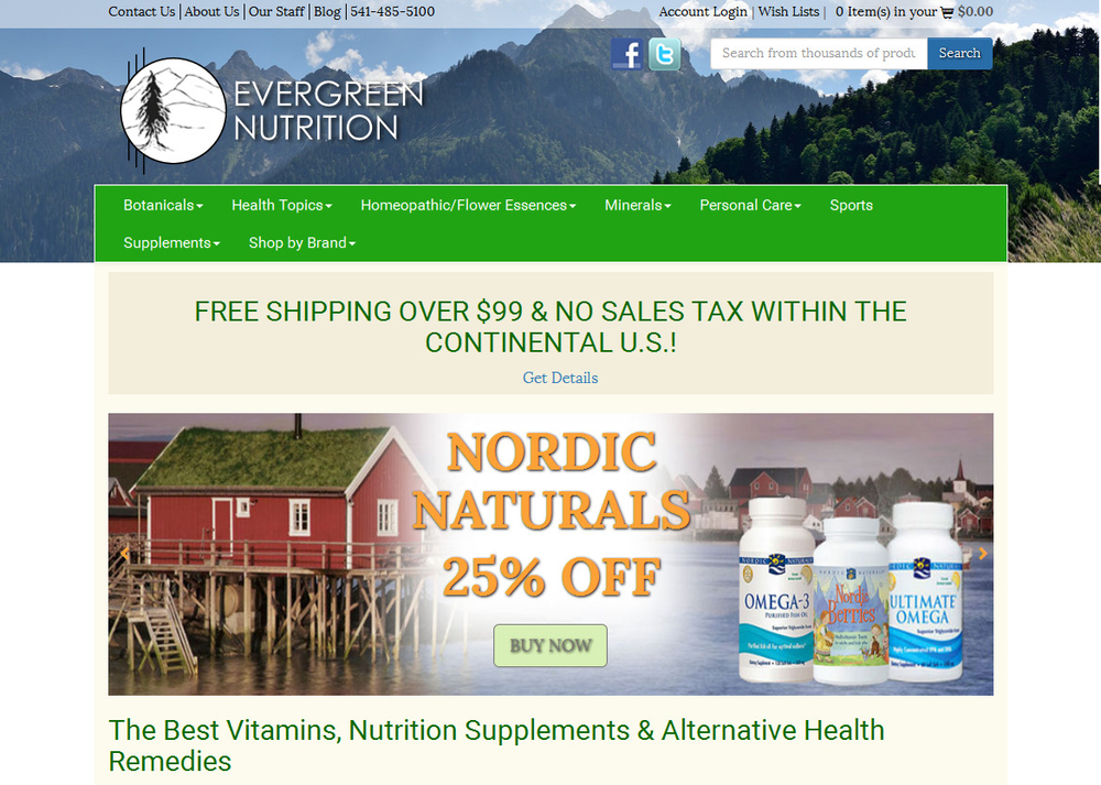Image Evergreen Nutrition
