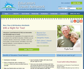Image Educators Travel Network