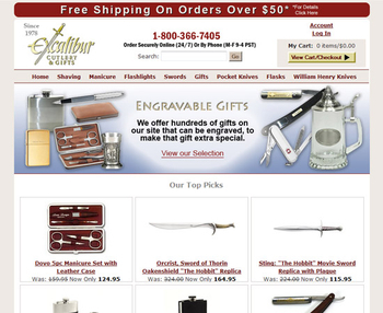 Image Excalibur Cutlery & Gifts