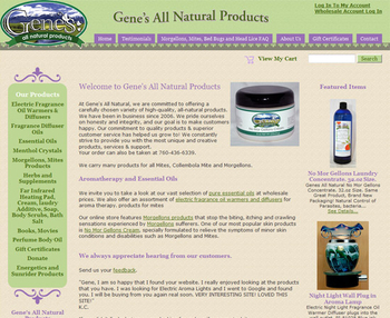 Image Gene's All Natural Products