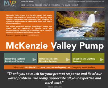 Image McKenzie Valley Pump