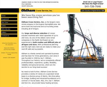 Image Oldham Crane