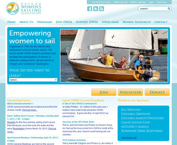 Image Oregon Women's Sailing Association