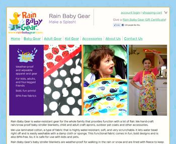 Image Rain Baby Gear