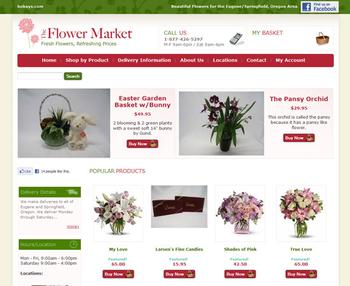Image The Flower Market