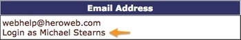 Image Easy Login to Customer Accounts
