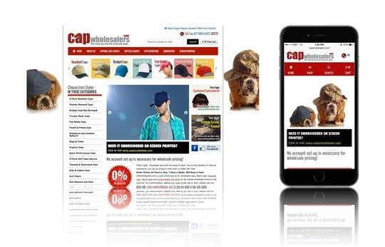 Image eCommerce Mobile Website
