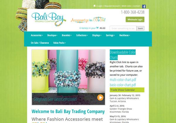 Bali BayTrading Company | Wholesale & B2B Ecommerce Websites